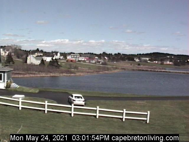 Cape Breton webcam - L' Ardoise Cape Breton East View webcam, Nova Scotia, Cape Breton Island