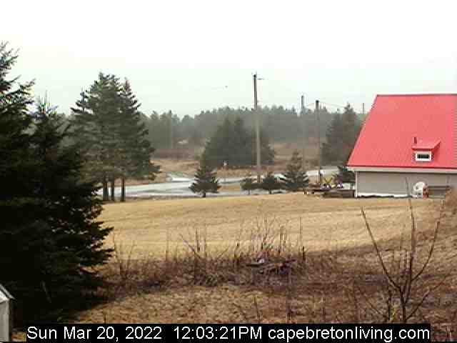 Cape Breton webcam - West View. Click on image for streaming cam
