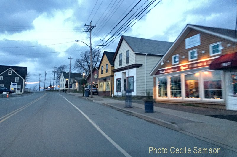 "Cape Breton Memories: St Peter's 2014. St Peter's 2014 - Passing through in the early hours of the day... ""Every morning the world flung itself over and exposed the town to the sun""  - Zora Neale Hurston"