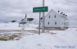 Cape Breton Photo of the Week L'Ardoise School Rd
