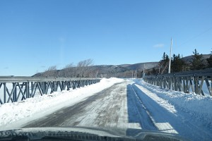 Cabot Trail winter road trip East Lake Ainslie