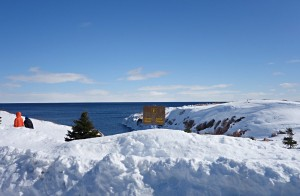 Cabot Trail winter road trip - Green Cove Cape Breton