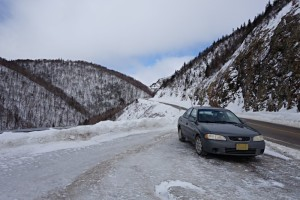 Cabot Trail winter road trip - Cape Breton