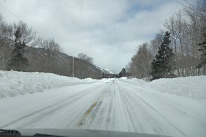 Cabot Trail winter road trip - Big Intervale Cape Breton