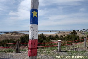 Cape Breton Living's photo of the week: Chapel Cove Acadian flag