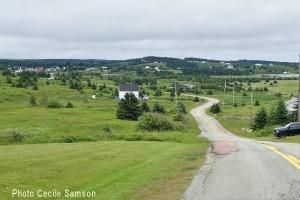 Cape Breton Photo of the Week: L'Ardoise church hill