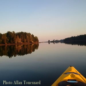 Cape Breton Living Photo of the Week: Kayak in River Bourgeois