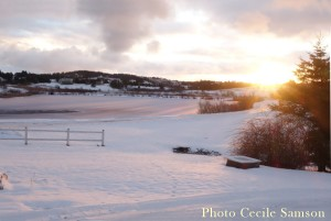 Cape Breton Living Photo of the Week: L'Ardoise - Cheers to a new year 2016