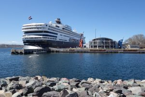 Cape Breton Living Photo of the Week: Port of Sydney - The Big Fiddle
