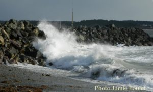 Cape Brton Living Photo of the Week: Waves in Chapel Cove