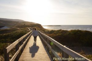Cape Breton Living Photo of the Week: Inverness Beach Boardwalk Photo by Maeghan Waters