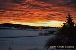 Cape Breton Living Photo of the Week: Winter Sunrise in L'Ardoise