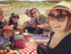 Picnic at Inverness Beach