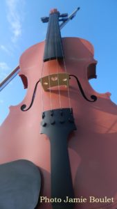 Cape Breton Living Photo of the Week: The Big Fiddle Sydney