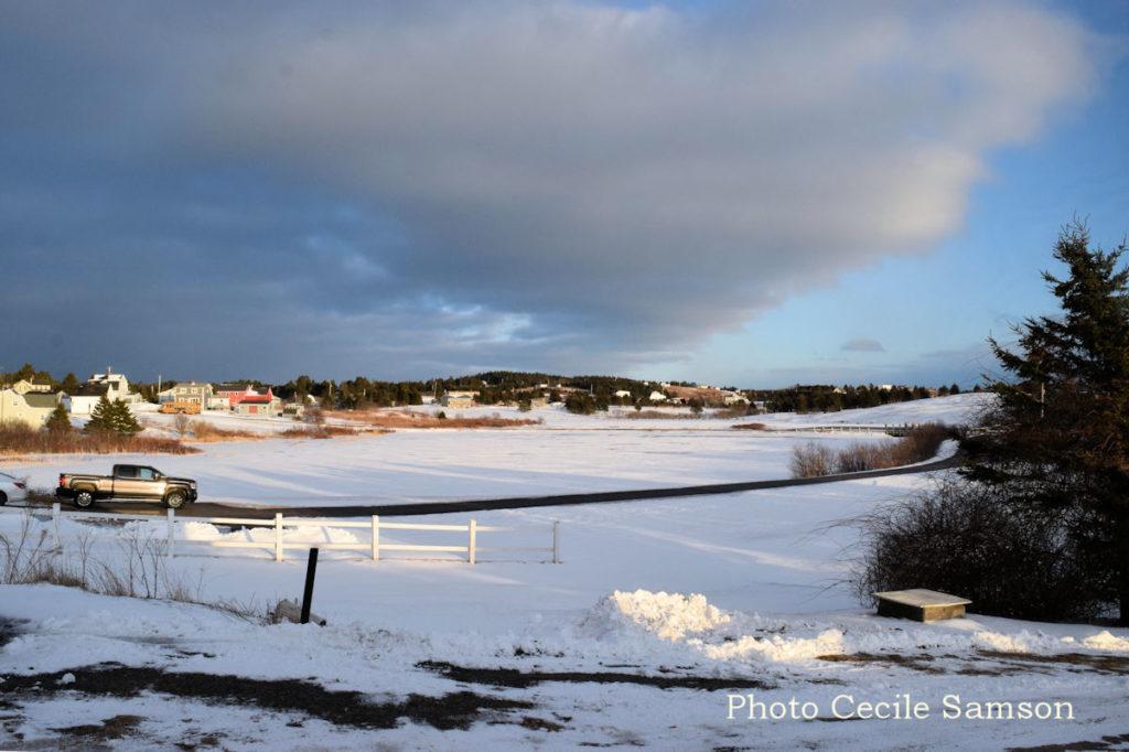 Cape Breton Living Photo of the Week: Winter Sunset - L'Ardoise