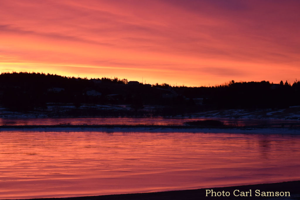 Cape Breton Living Photo of the Week: Winter Sunrise - L'Ardoise