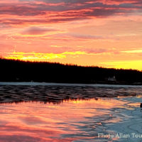 Cape Breton Living Photo of the Week: Evening Colours - River Bourgeois
