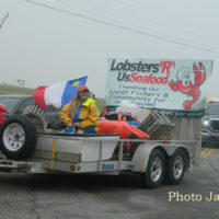 Remembering 2018 The Lobsters R us Float on the Parade of Floats during the Acadian festival