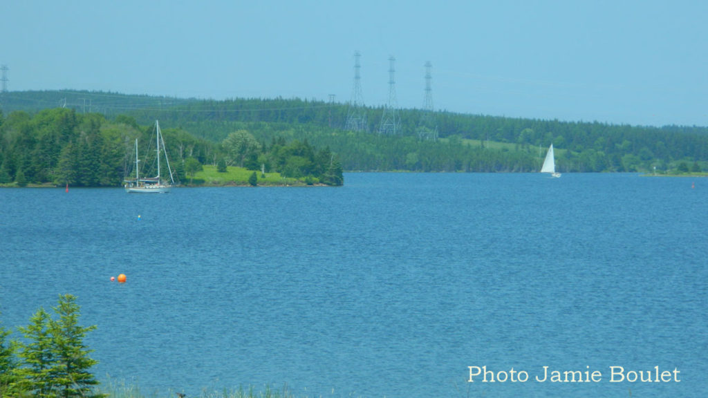Cape Breton Living: Jamie Boulet Pics - Little Harbour to Bras d'Or Lakes Sailboats sailing across the Bras d'Or Lakes.