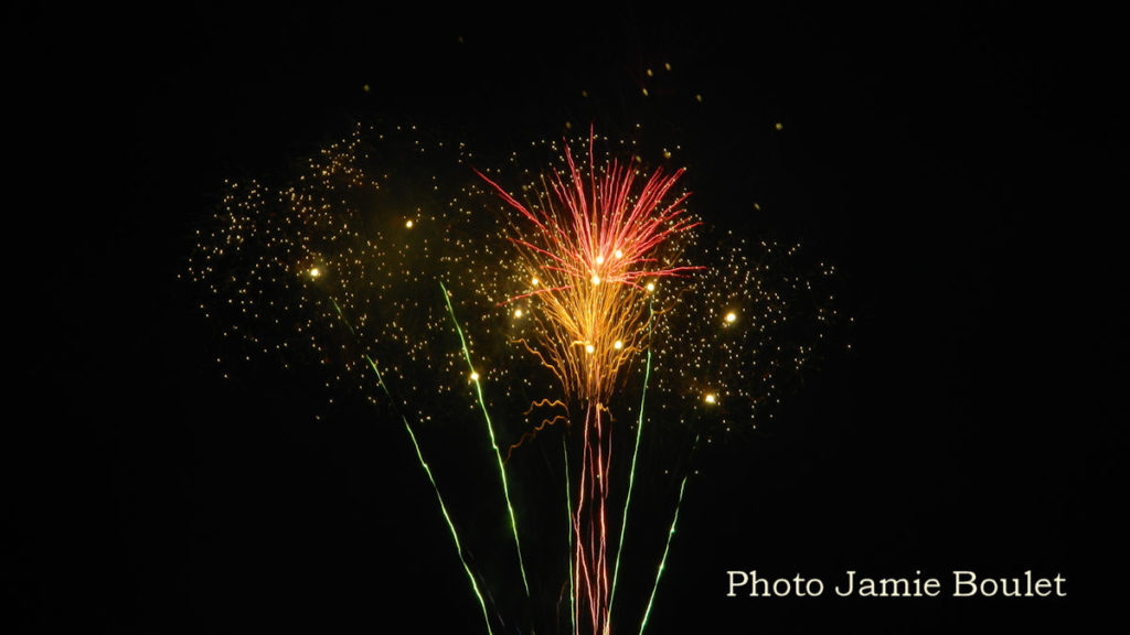 Cape Breton Living: Fireworks display to start the 57th Annual Acadian Festival in L'Ardoise.