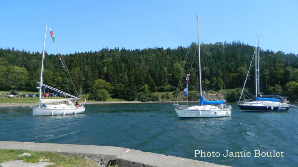 Cape Breton Living: Sailboat Parade St Peter's Canal
