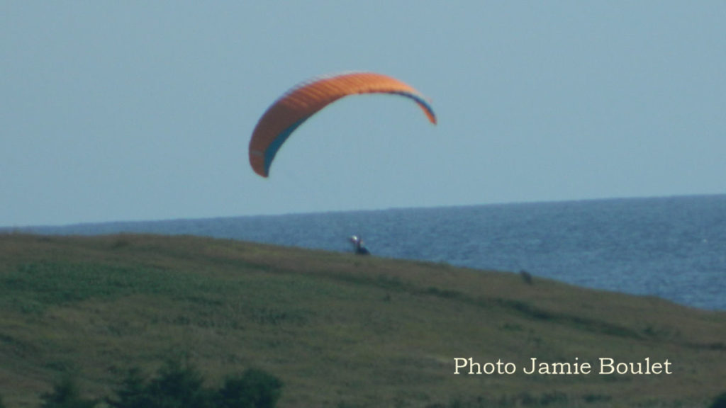 Cape Breton Living: Kitesurfing Chapel Cove Photo Jamie Boulet