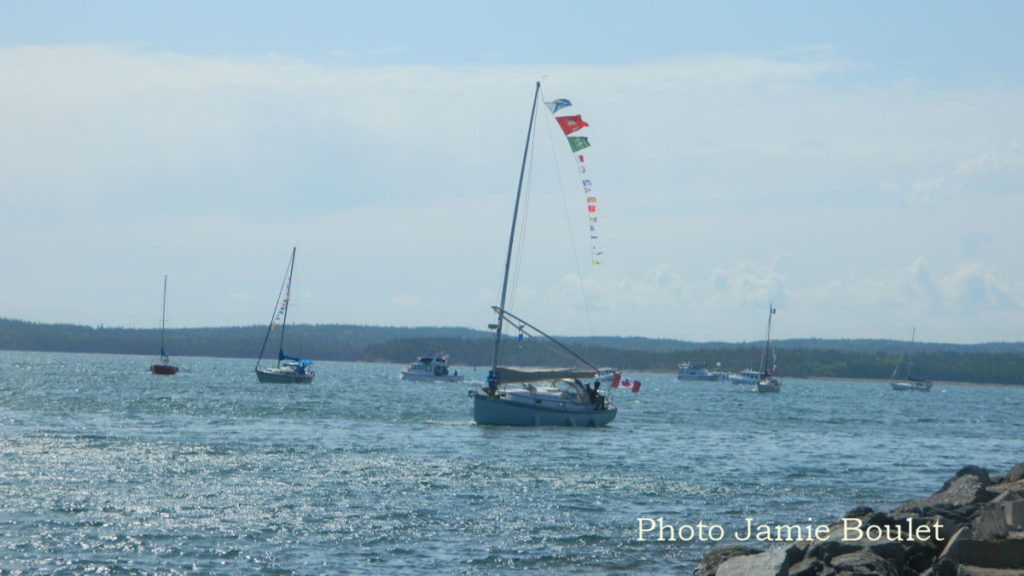 Cape Breton Living Photo of the Week: St Peter's Canal Sailboat Parade