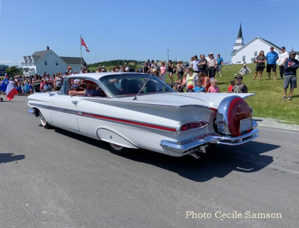 Cape Breton Living Photo of the Week: 1959 Chevrolet Impala L'Ardoise Acadian Day Festival