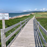 Cape Breton Living Photo of the Week: Inverness Beach Boardwalk