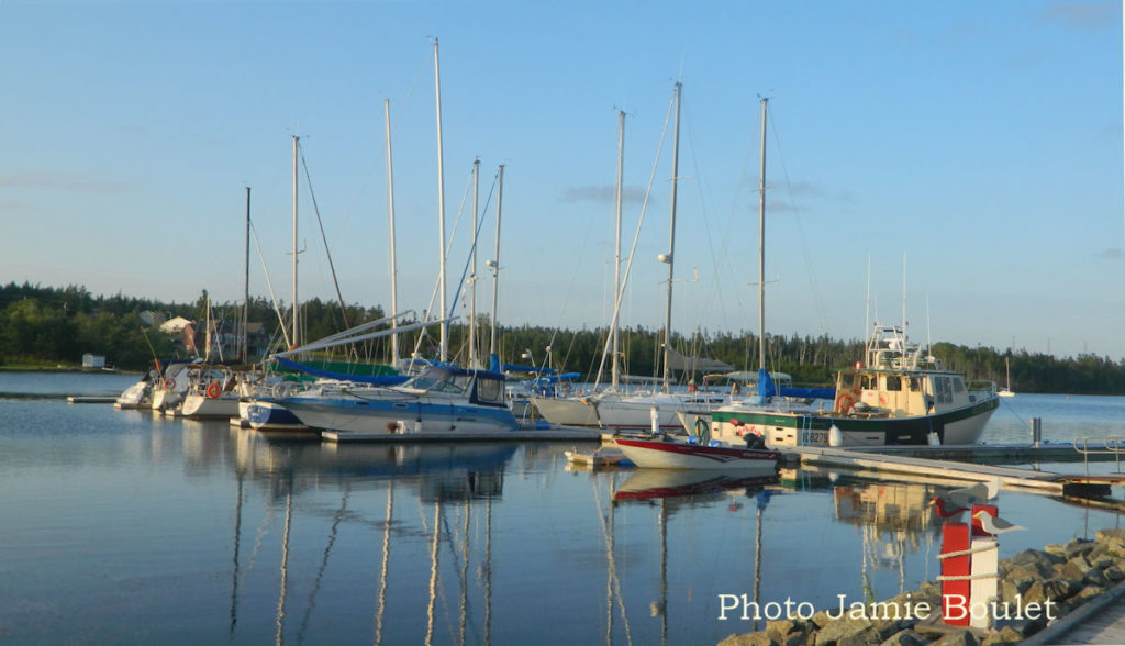 Cape Breton Living Photo of the Week: St Peter's Lions Club Marina. Photo Jamie Boulet