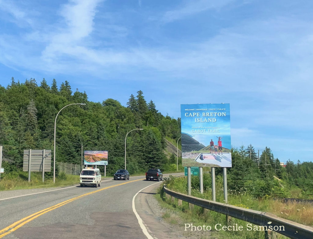 Cape Breton Living Photo of the Week: Canso Causeway Welcome