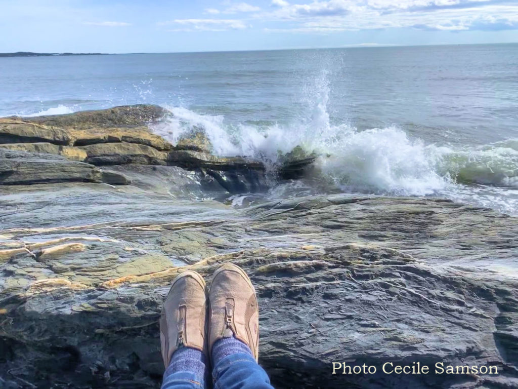 """Cape Breton Photo Memories: Chapel Cove 2019. """"Smell the sea and feel the sky, let your soul and spirit fly, into the mystic."""" - Van Morrison"""