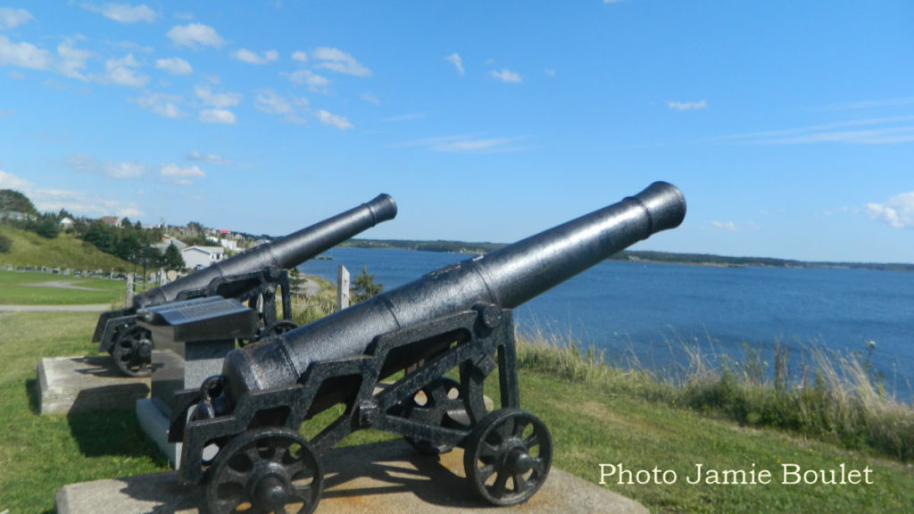 Cannon Look-Off - Arichat.  A collection from Jamie Boulet