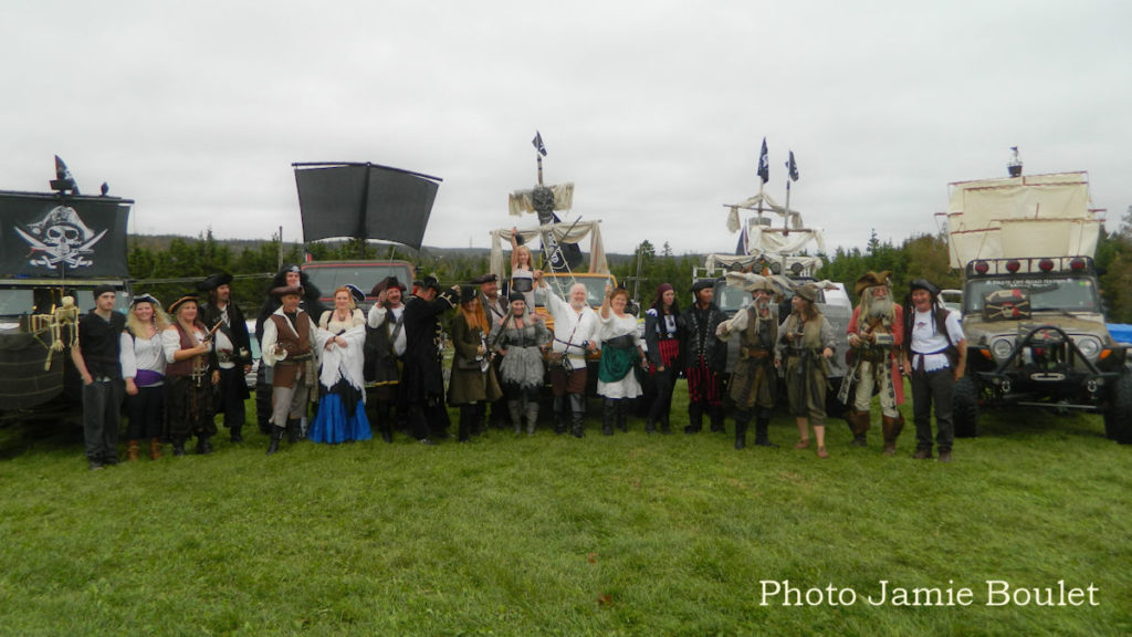 A collection by Jamie Boulet - The Pirate Off-Road Nation took part of The St. Peter's Pirate Days.