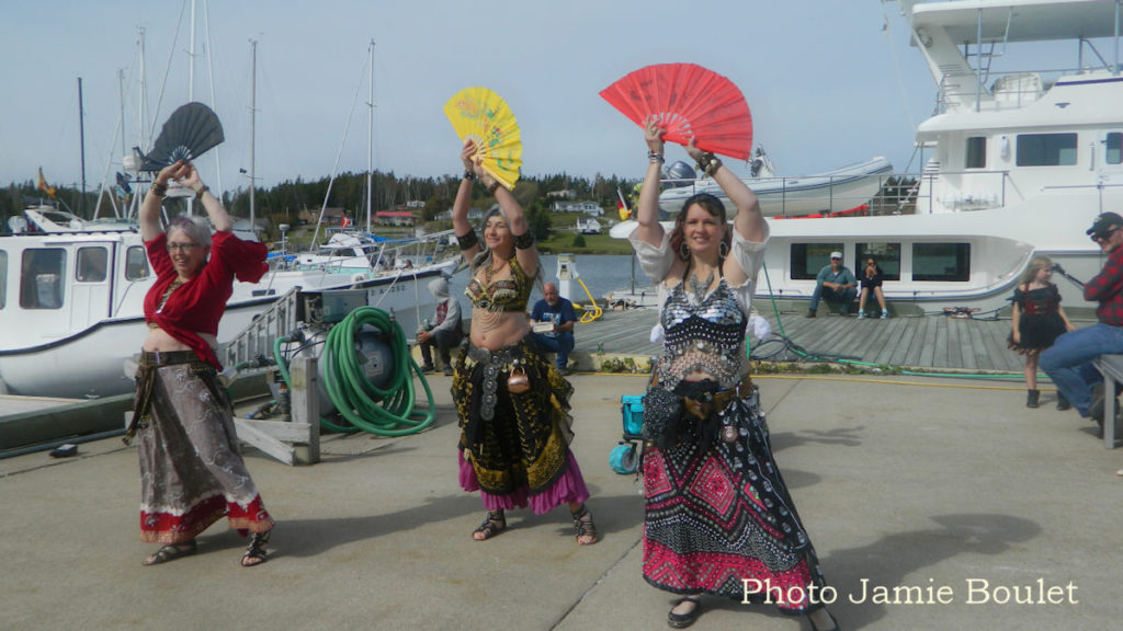 A collection by Jamie Boulet - Belly dancers during the St. Peter's Pirate Days.