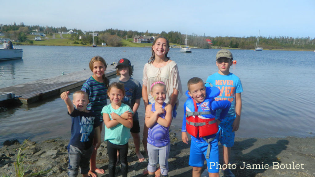 A collection by Jamie Boulet - The winners of the Sprog Sprint Kids Race during the St. Peter's Pirate Days.
