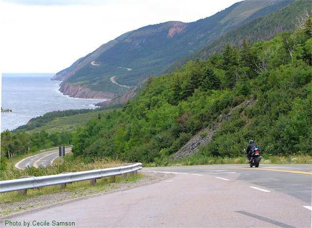 "Cape Breton Photo Memories: Cabot Trail 2004. ""Life is not always perfect. Like a road, it has many bends, ups and down, but that's its beauty."" - Amit Ray"