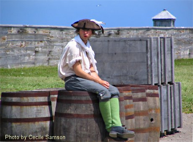 """Cape Breton Living Photo Memories: Louisbourg 2008 Fortress of Louisbourg 2008 Cape Breton Island -  """"We all carry, inside us, people who came before us."""" - Liam Callanan"""