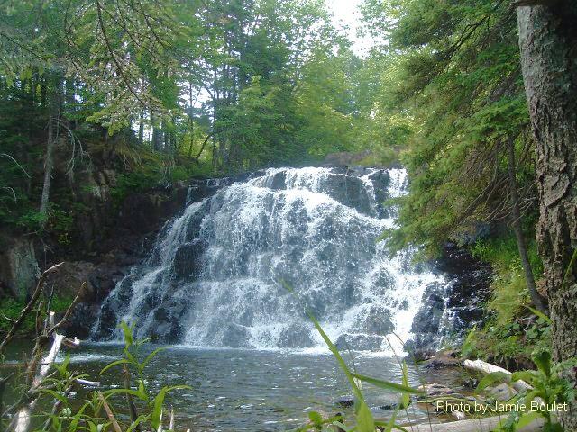 "Cape Breton Living Photo Memories: Waterfalls 2007 Cape Breton Waterfalls -  ""There is a hidden message in every waterfall. It says if you are flexible, falling will not hurt you."" - Mehmet Murat Ildan"